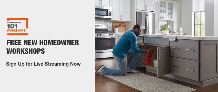 Free New Homeowner Workshops  Sign Up for Live Streaming Now