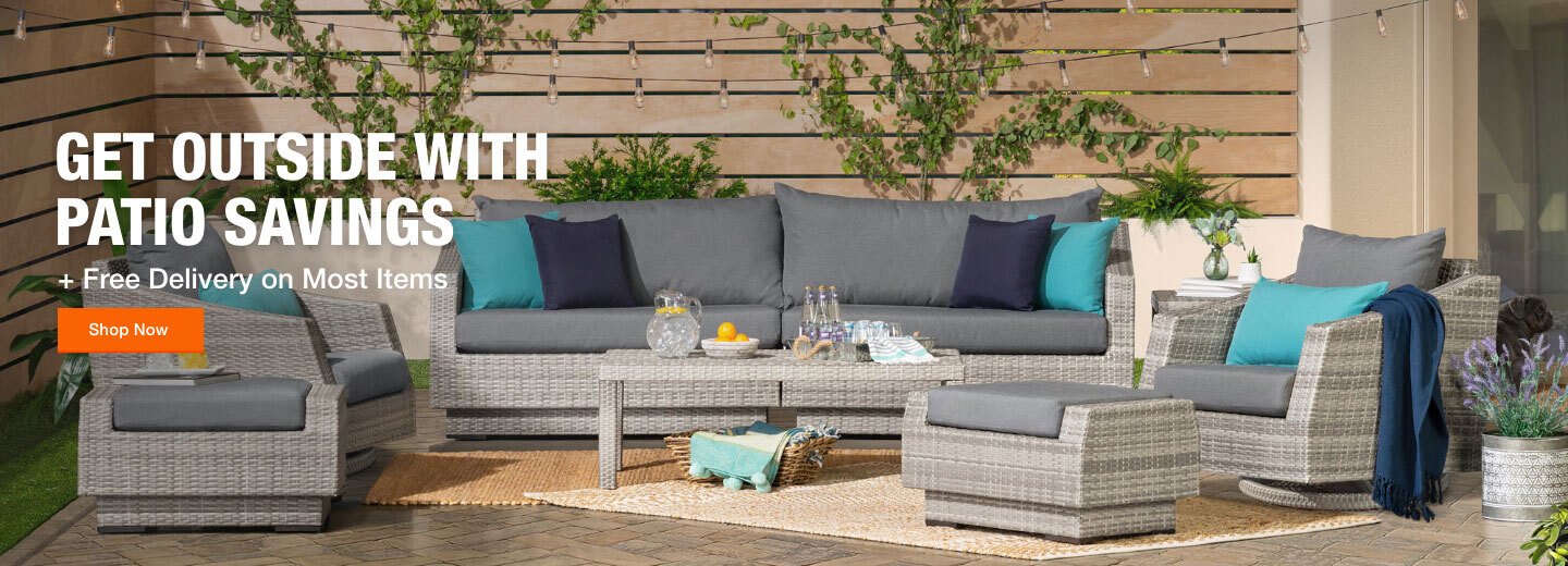Get Outside with Patio Savings + Free Delivery on Most Items