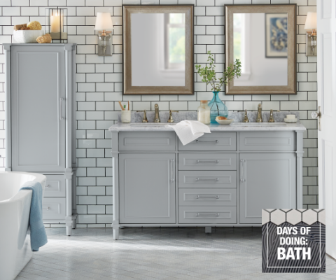 Up to 40% off Select Bath   Free Delivery on all Online Vanities