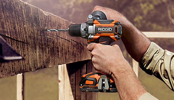 RIDGID 18-Volt Brushless 5-Tool Kit Savings