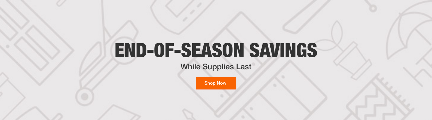 End-of-Season Savings While Supplies Last