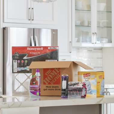 Get 5% off + Free Delivery  with Home Depot Subscriptions™ Service