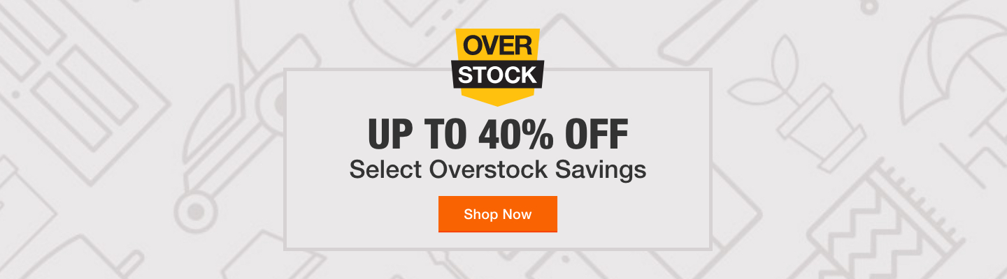Up to 40% Off with Select Overstock Savings