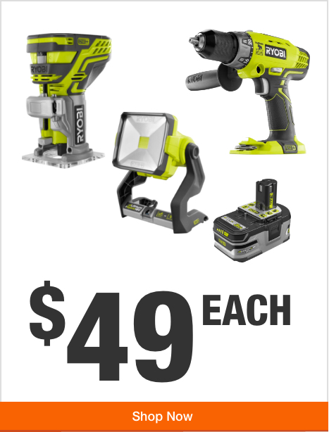 Your Choice of ONE+ Power Tool -  $49 Each