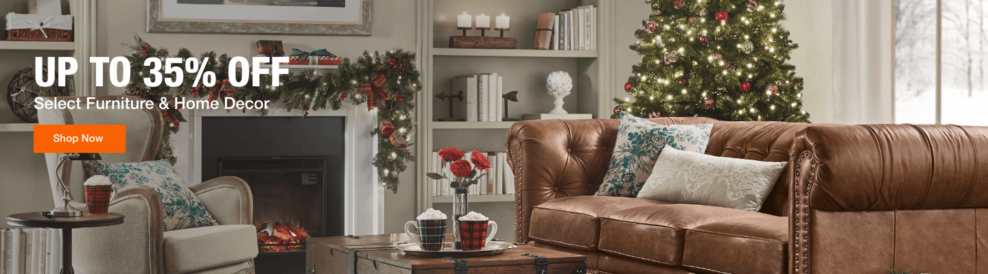 Up to 35% off Select Furniture & Home Decor
