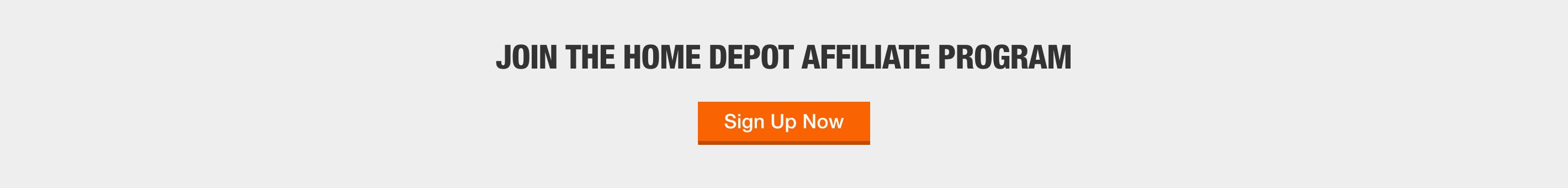 The Home Depot Affiliate Program