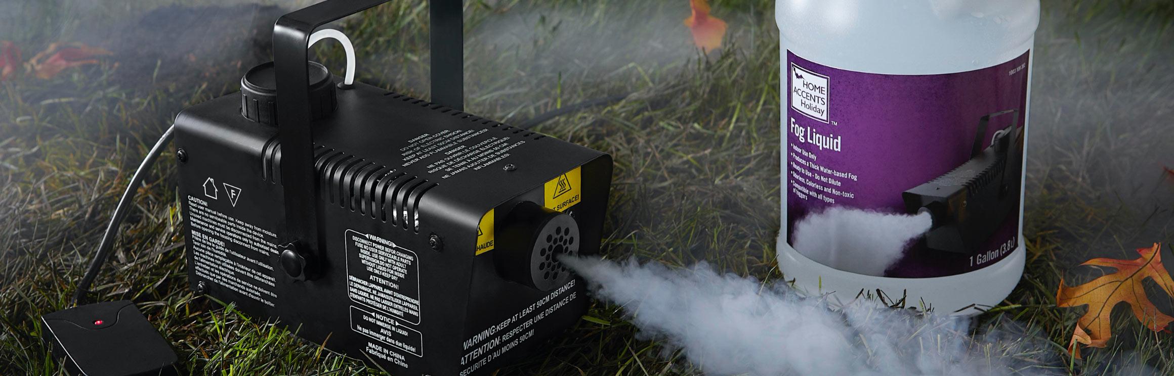 Fog & Fog Machines