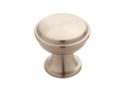 Brushed nickel knobs