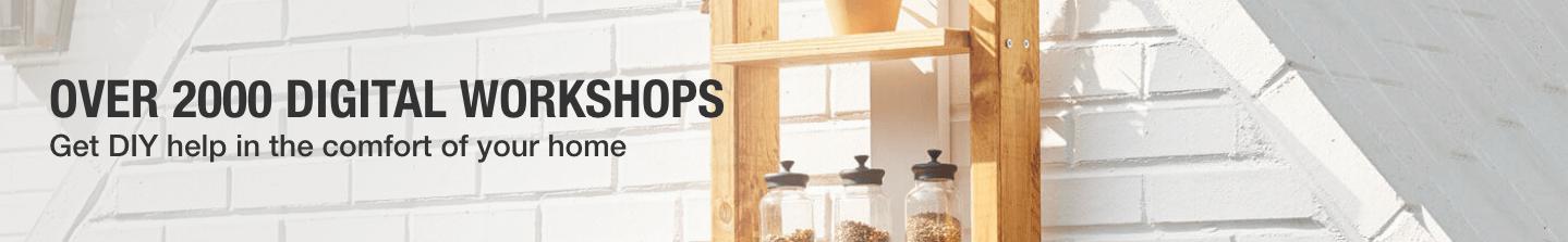 OVER 2000 DIGITAL WORKSHOPS: Get DIY help in the comfort of your home