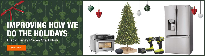 Black Friday Christmas Tree Online 2020 Black Friday Deals   Home Depot
