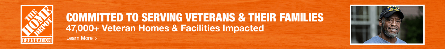 COMMITTED TO SERVING VETERANS & THEIR FAMILIES 47,000+ Veteran Homes & Facilities Impacted. Learn more