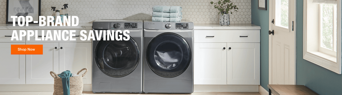 Top-Brand Appliance Savings. Shop Now