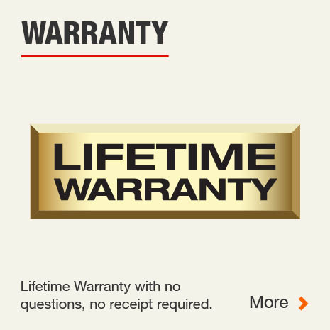 Husky Lifetime Warranty