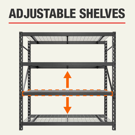 Husky Adjustable Shelves