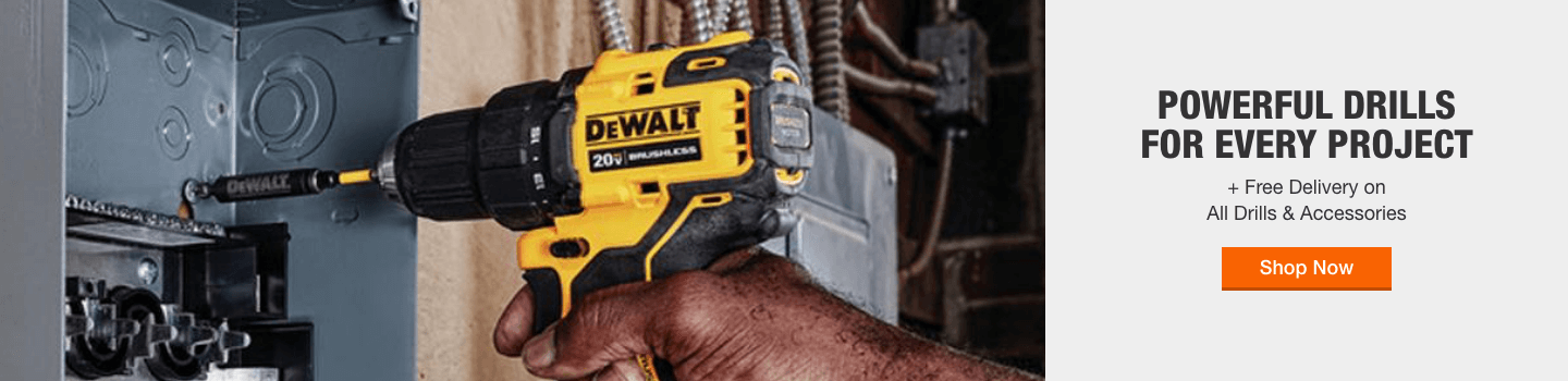 Powerfull Drills for every project