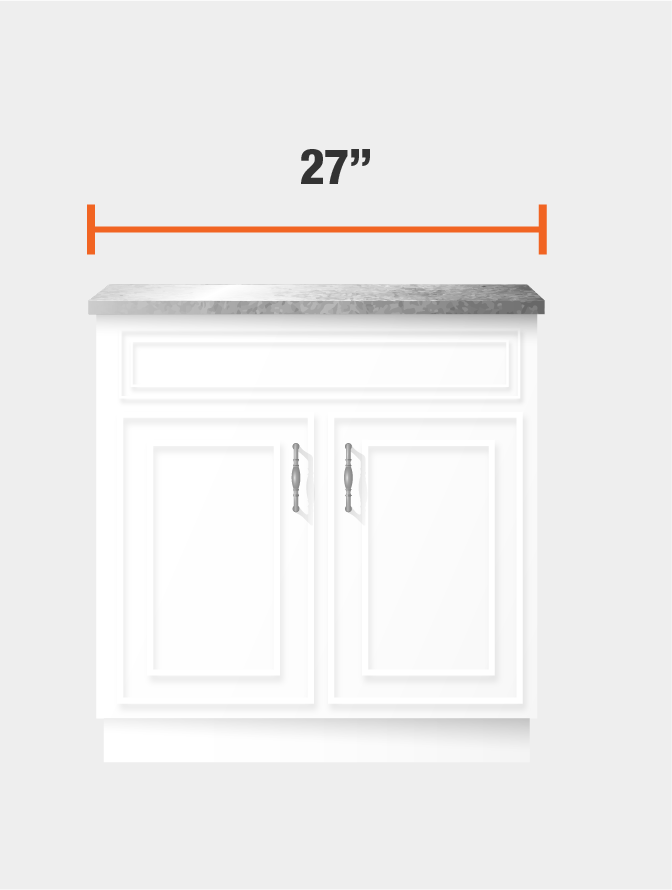 27 inch cabinet