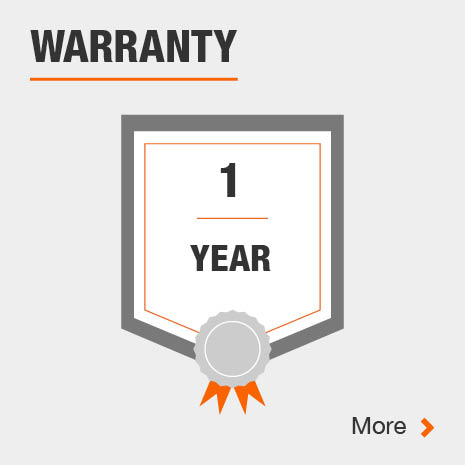Storage shelf with one year warranty