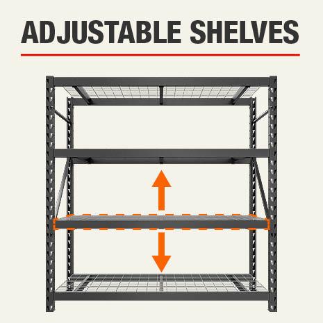 Husky Adjustable Shelves