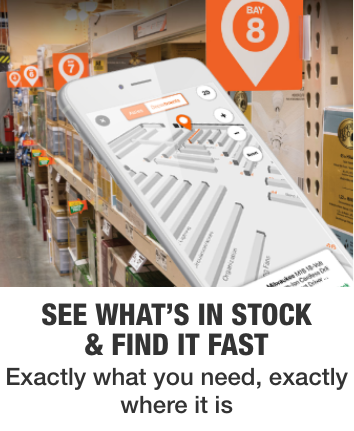 See what's in stock & find it fast. Exactly what you need, exactly where it is