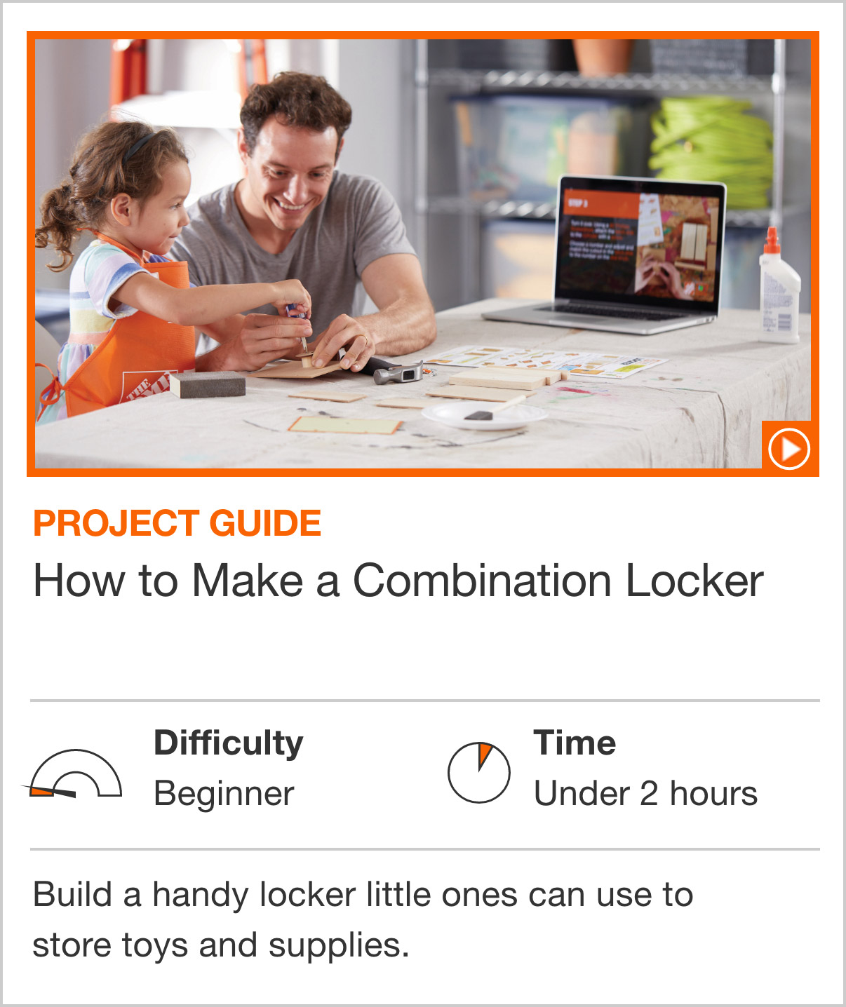 How to Make a Combination Locker