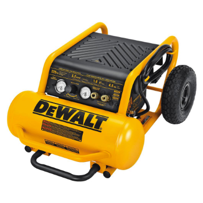 Electric air compressors are the most popular power source because of long run time