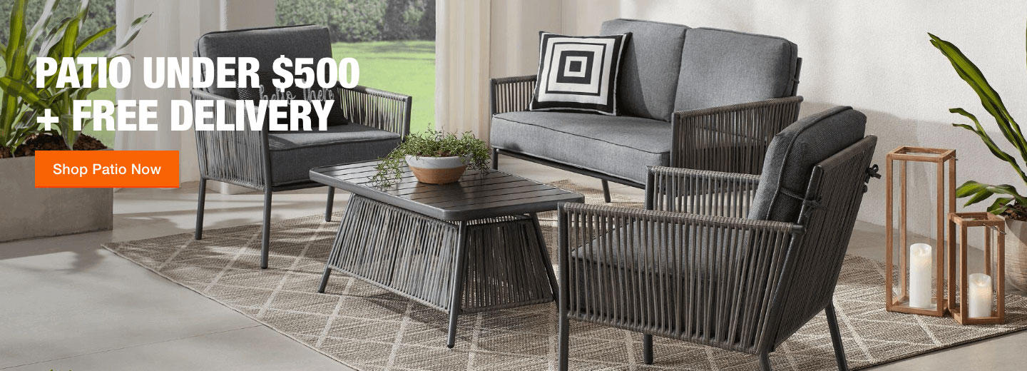 Patio Under $500 + Free Delivery