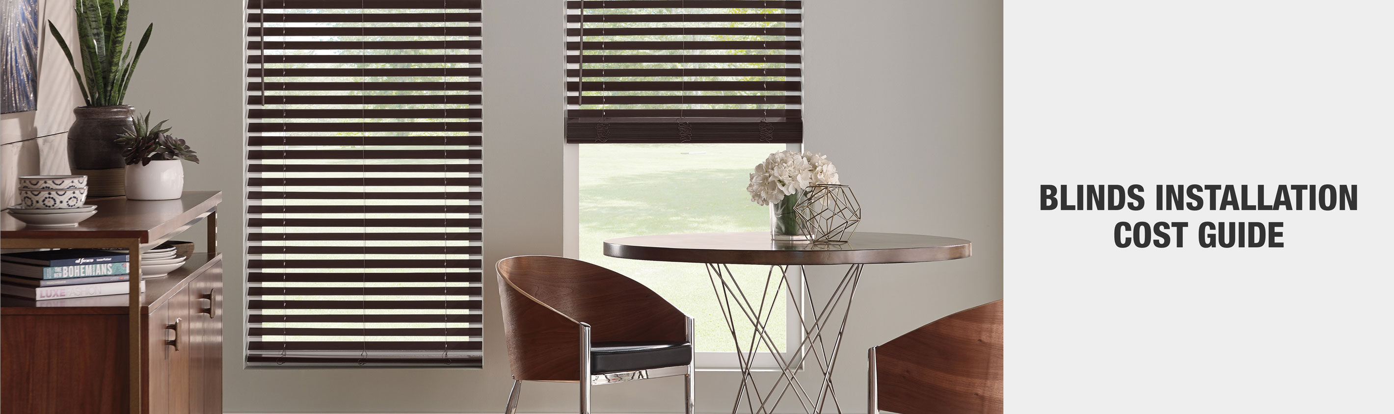 Blinds Installation cost guide - free in-store consultation
