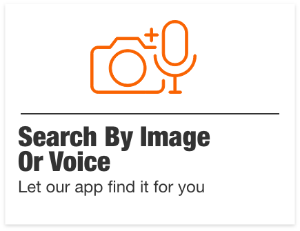 Search by image or voice. Let our app find it for you