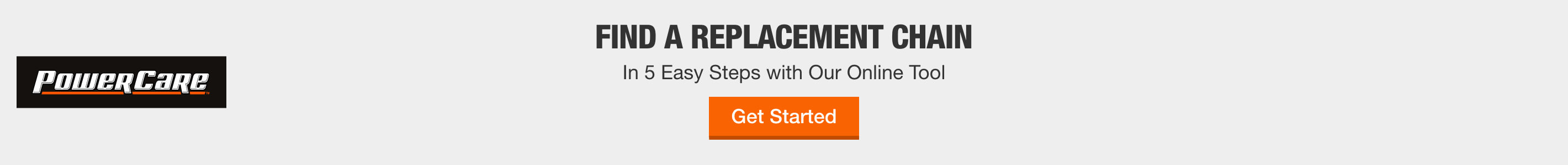 Find a Replacement Chain In 5 Easy Steps with Our Online Tool - Get Started