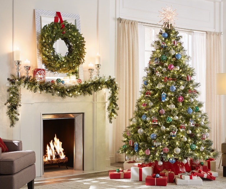 Celebrate the season with Christmas trees, lights, indoor and outdoor decorations, plus so much more