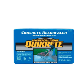 Resurfacing & leveling concrete resurfacer