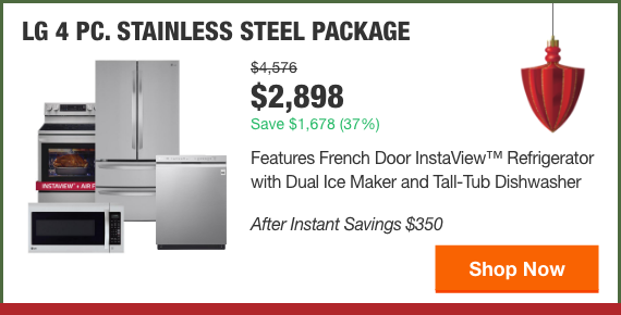 LG 4 PC. STAINLESS STEEL PACKAGE