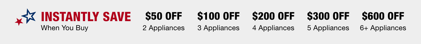 Appliance Instant Savings