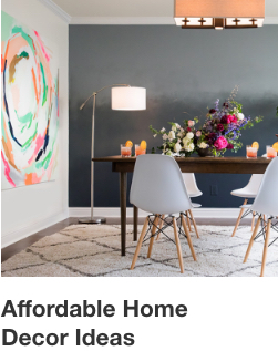 Affordable Home Ideas