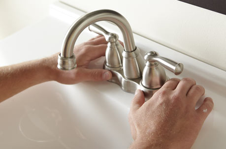 Install a Center Set Faucet