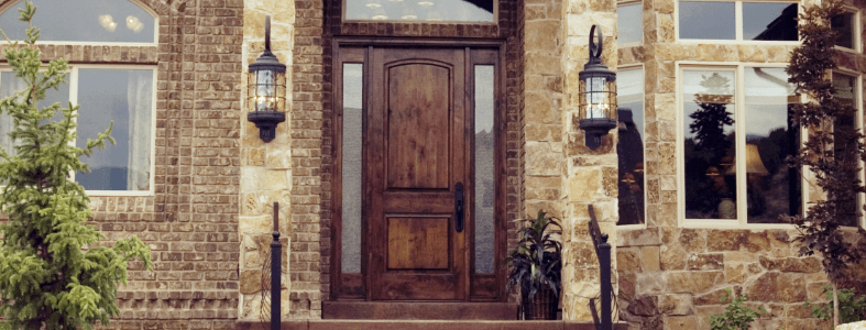 Exterior Doors The Home Depot Combination exterior doors are perfect for the homeowner who wants to have the breeze roll through their home without the security risk of using just a screen door. exterior doors the home depot