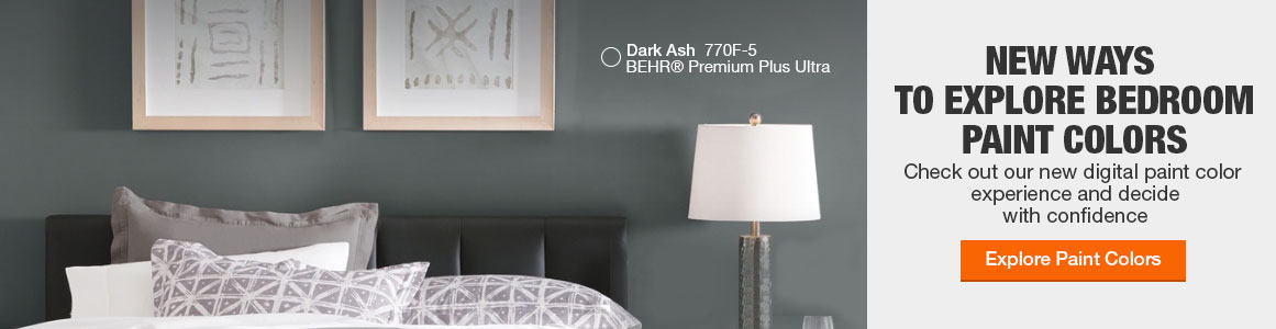 Bedroom Paint Colors The Home Depot