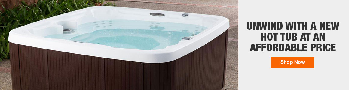 Shop hot tubs at an affordable price