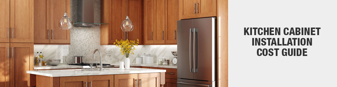 Cost To Install Kitchen Cabinets The Home Depot