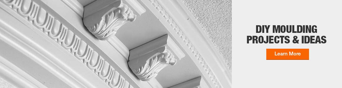 Choose the perfect moulding for each room in your home