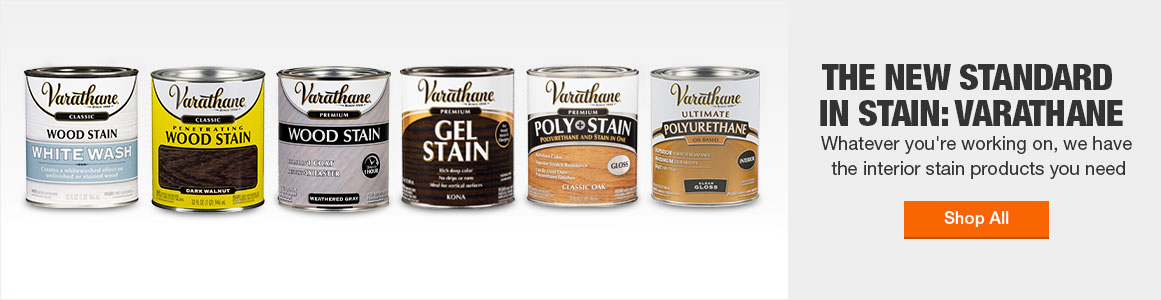 The new standard in stain: Varathane