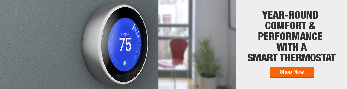 Year round comfort and performance with a smart thermostat