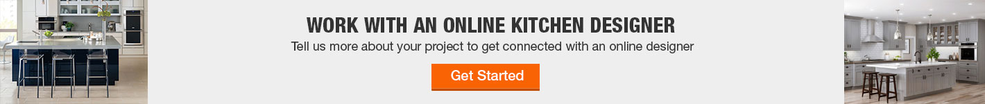 Work with an online kitchen expert now