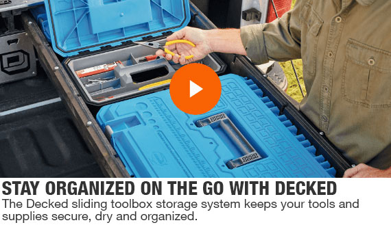 Stay organized on the go Decked