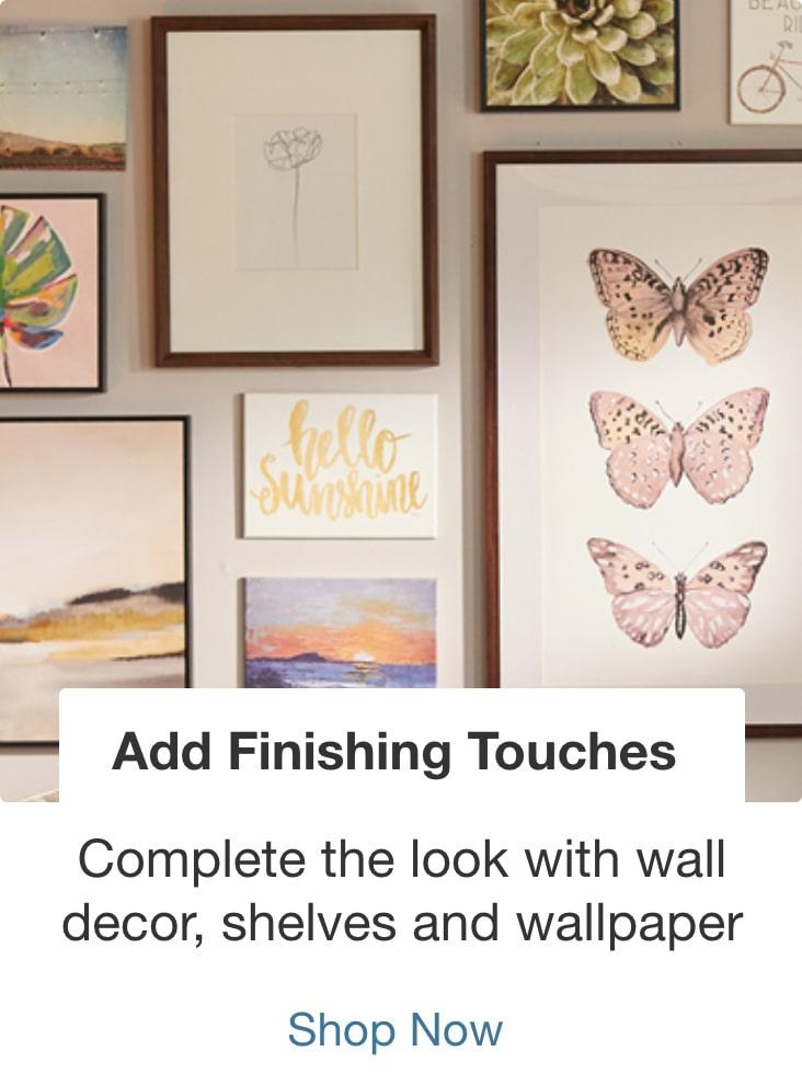 Add Finishing Touches