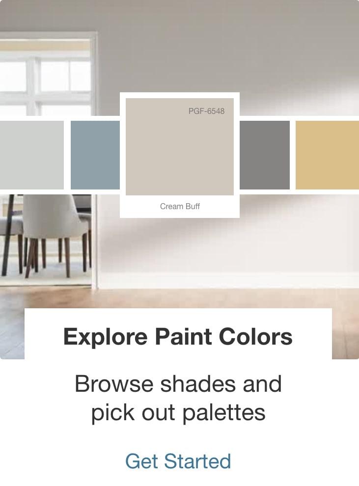 Explore Paint Colors