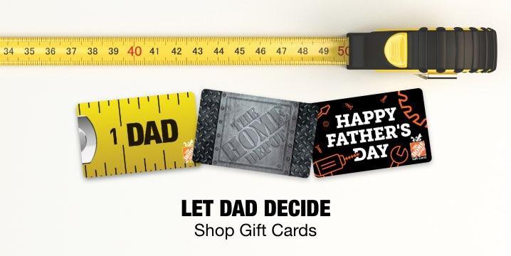 Let Dad Decide Shop eGift Cards