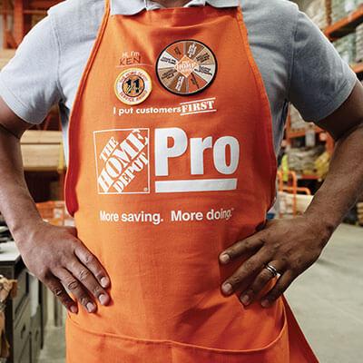 Home Depot Pro desk associate