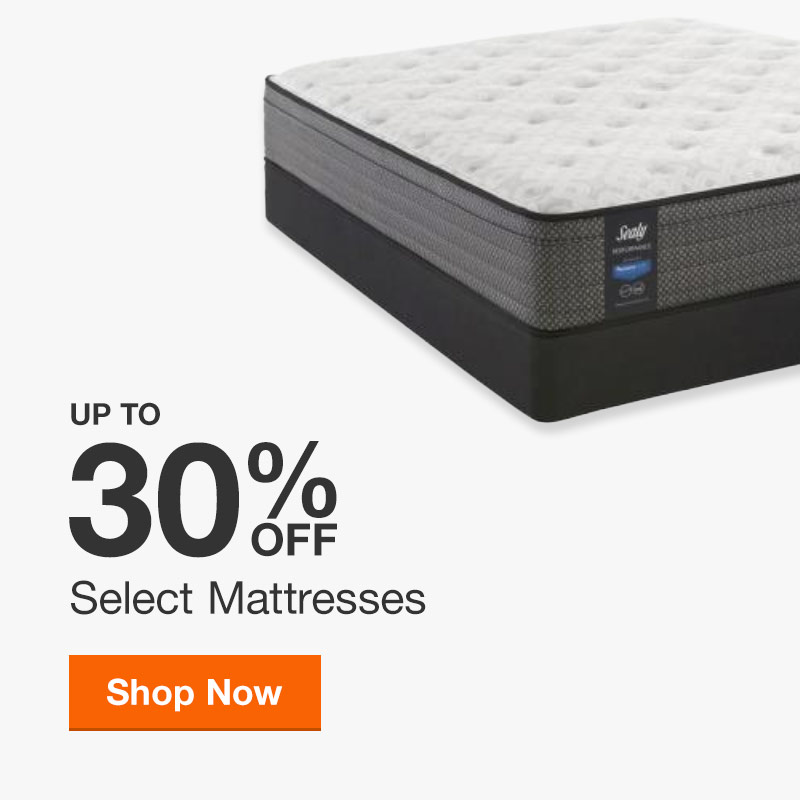 Up to 30% off Select Mattresses
