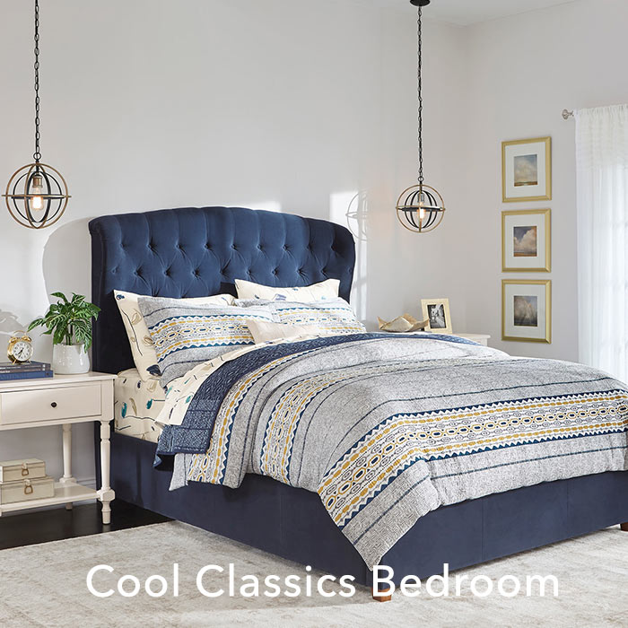 Cool Classics Bedroom